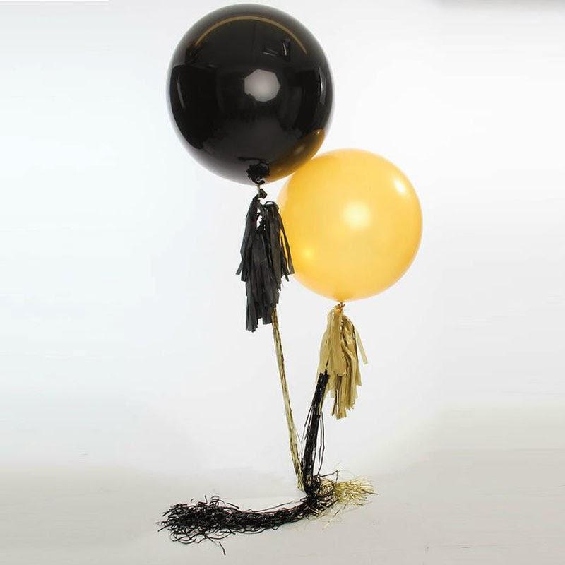 Un fin de año muy Glam con los globos The 'Gatsby' Duo de Bubblegum Balloons