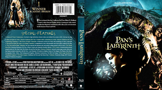 Capa Bluray Pans Labyrinth