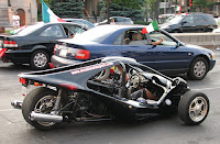 T-Rex motorcycle compare with car