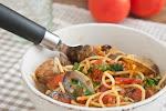 Spaghetti amb cloïsses