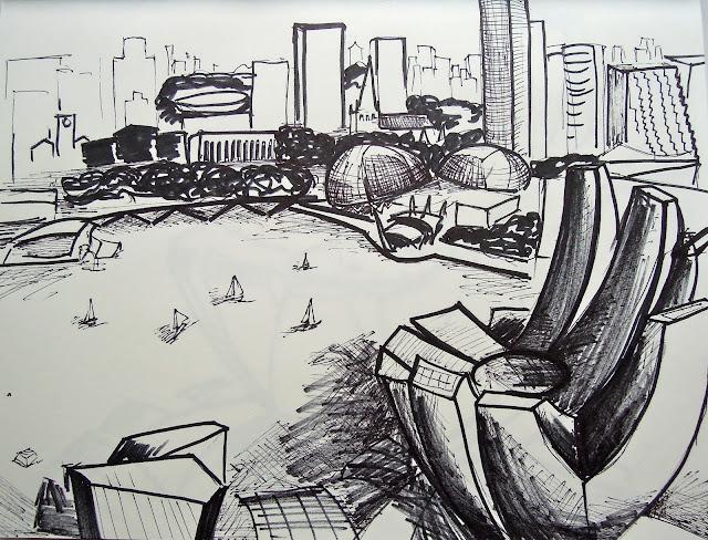 singapore urban sketchers