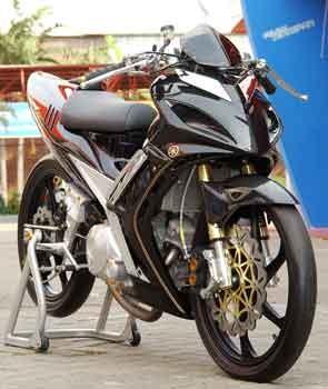 20 Modifikasi Jupiter MX Terbaru | Kumpulan Modifikasi Motor Yamaha Paling Keren