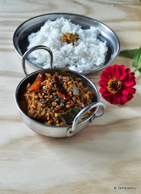 Kandagadda Pachadi ~ Yam (Suran) Chutney
