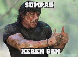 Sumpah Keren Gann..