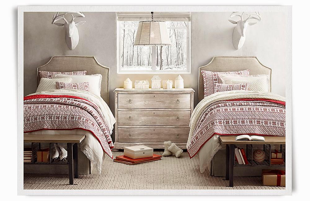 The Shabby Nest: 31 Days of All Things Home: RH Kids Christmas ...