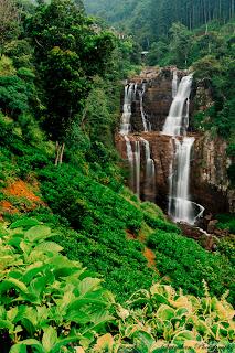 Dunhinda Waterfall, Srilanka