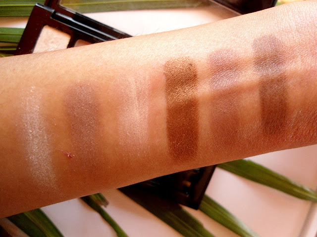 Maybelline 'The Nudes' Eyeshadow Palette Review, Swatch, FOTD, EOTD