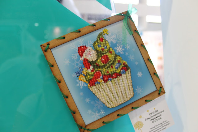рождественское пирожное