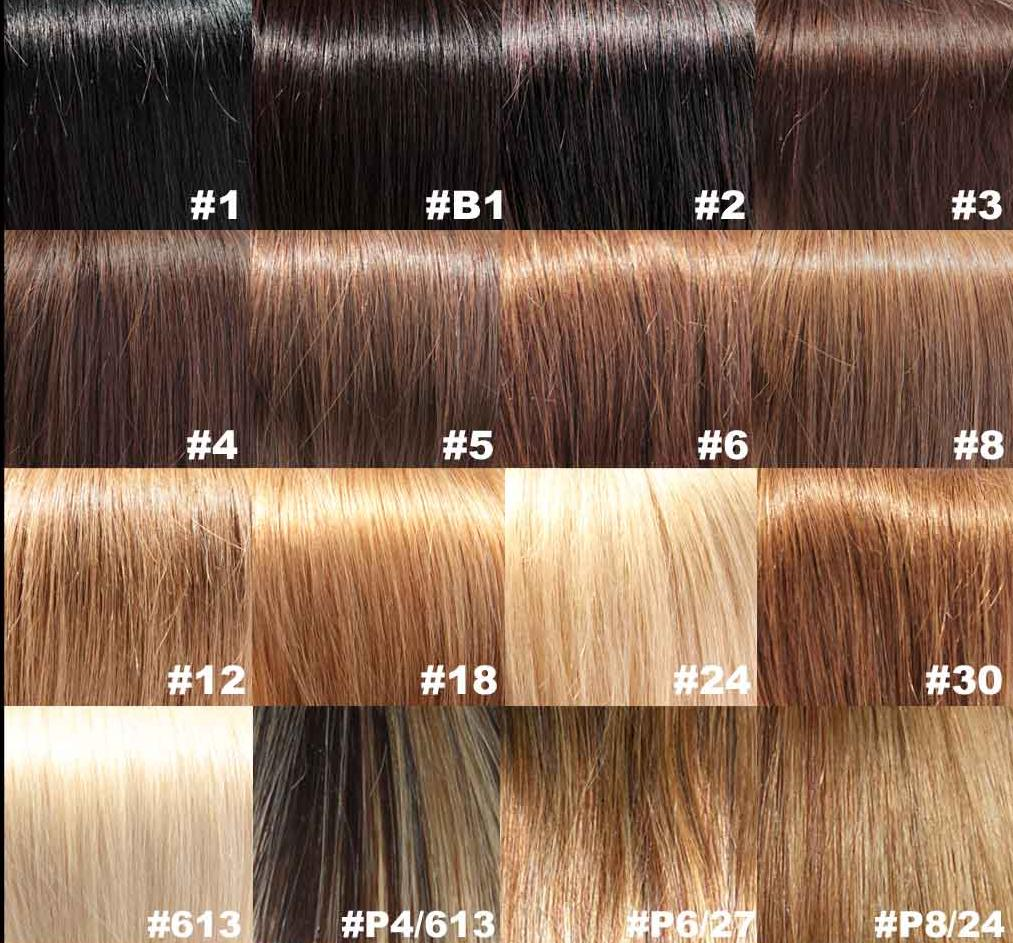 Black Hair Color: Light Brown Hair Color Chart