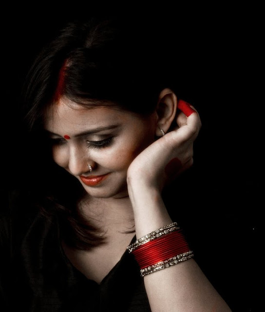 "Neha Vyas Indian Red Clicked by Isha Trivedi ""Isha Trivedi"""