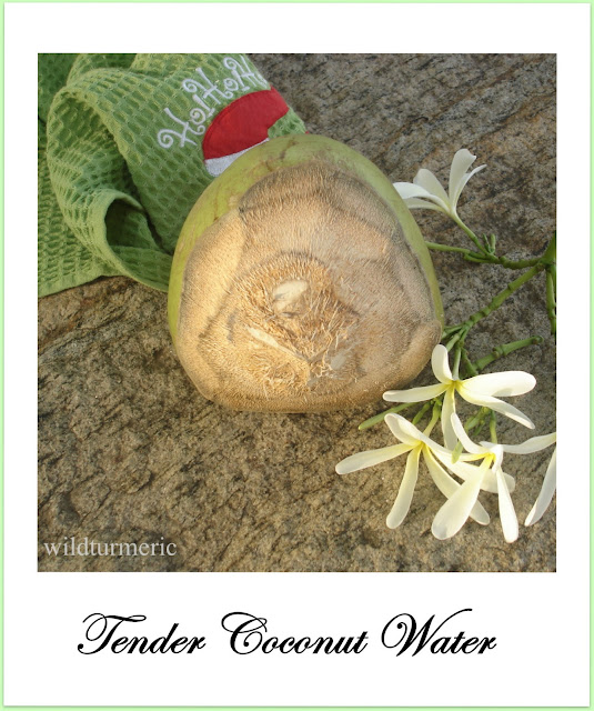 tender coconut water weight loss