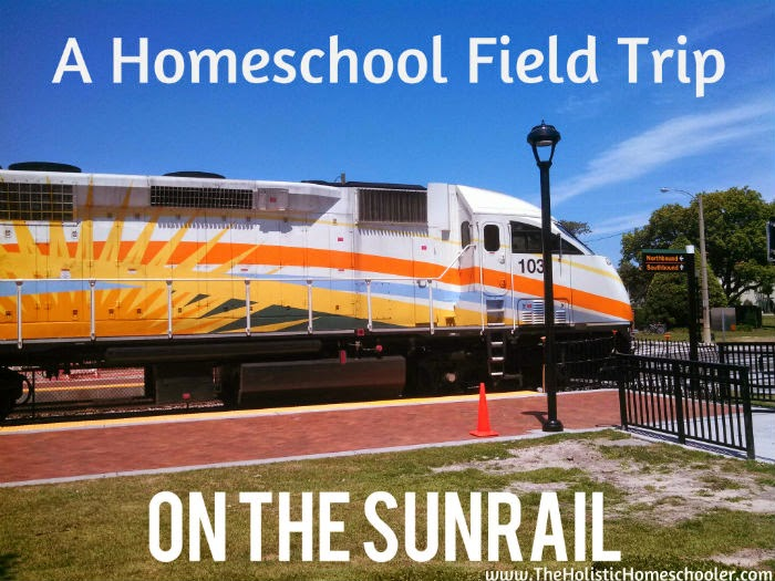 Our family took a trip on the new Sunrail train. Read about our day on this field trip.