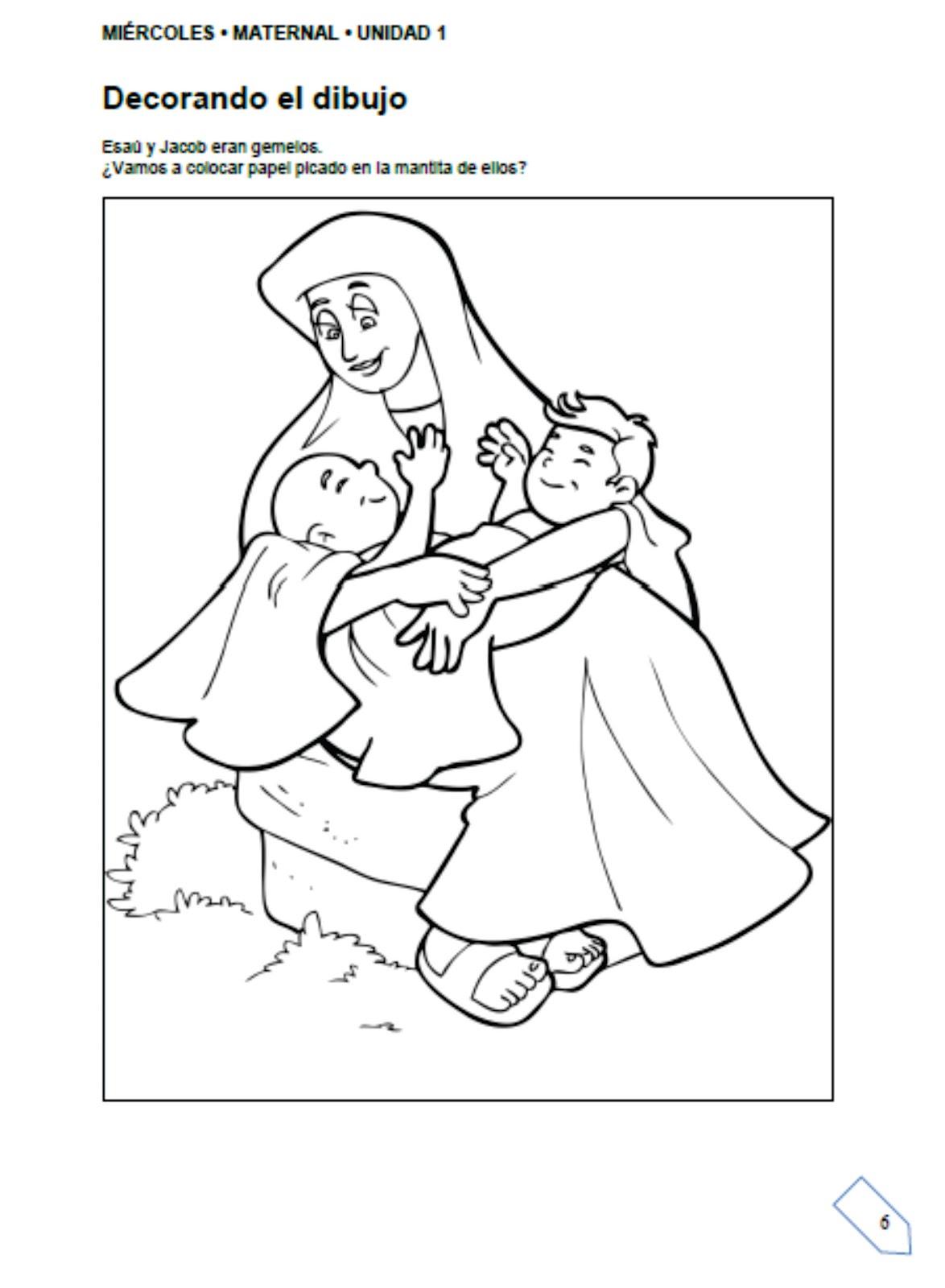 EBI Paraguay: El nacimiento de Esaú y Jacob