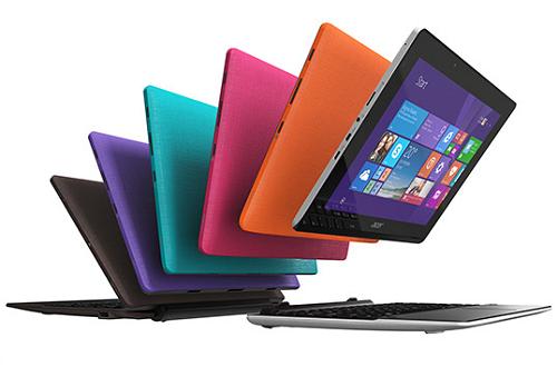 L'Acer Aspire Switch 10E SW3-013 è disponibile in più colori