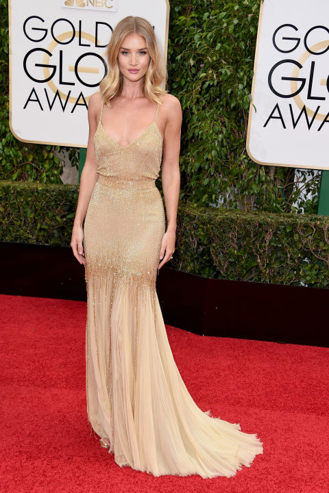 Golden Globes Rosie Huntington Whiteley Atelier Versace