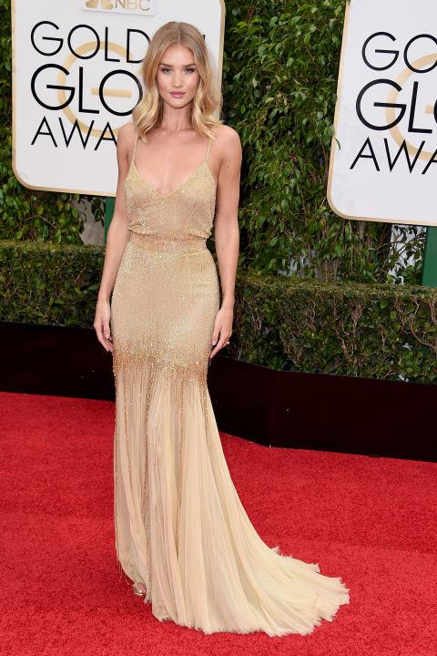 Golden Globes Rosie Huntington Whiteley Atelier Versace