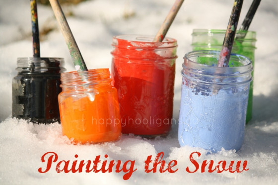 http://happyhooligans.ca/painting-the-snow/