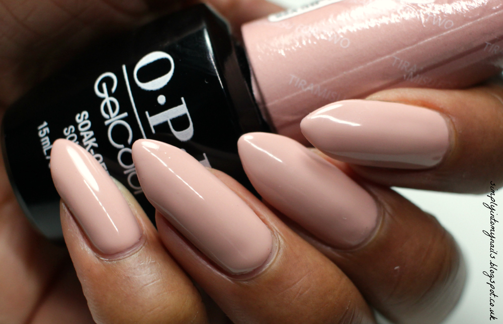 JORD Watch Manicure with OPI GelColor Tiramisu For Two | Simply Into ...