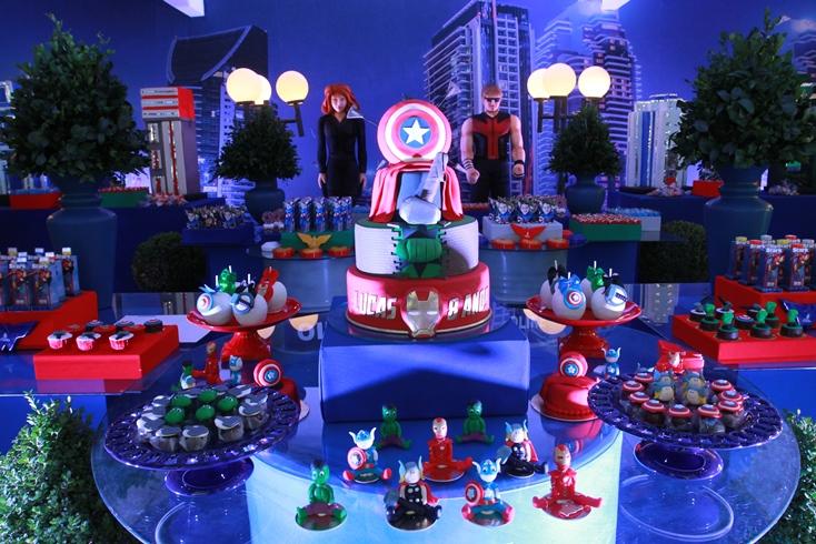 SPLASH PARTY Festas e Eventos Decoraç u00e3o de Festas Splash Party Os Vingadores # Decoração De Festa Os Vingadores