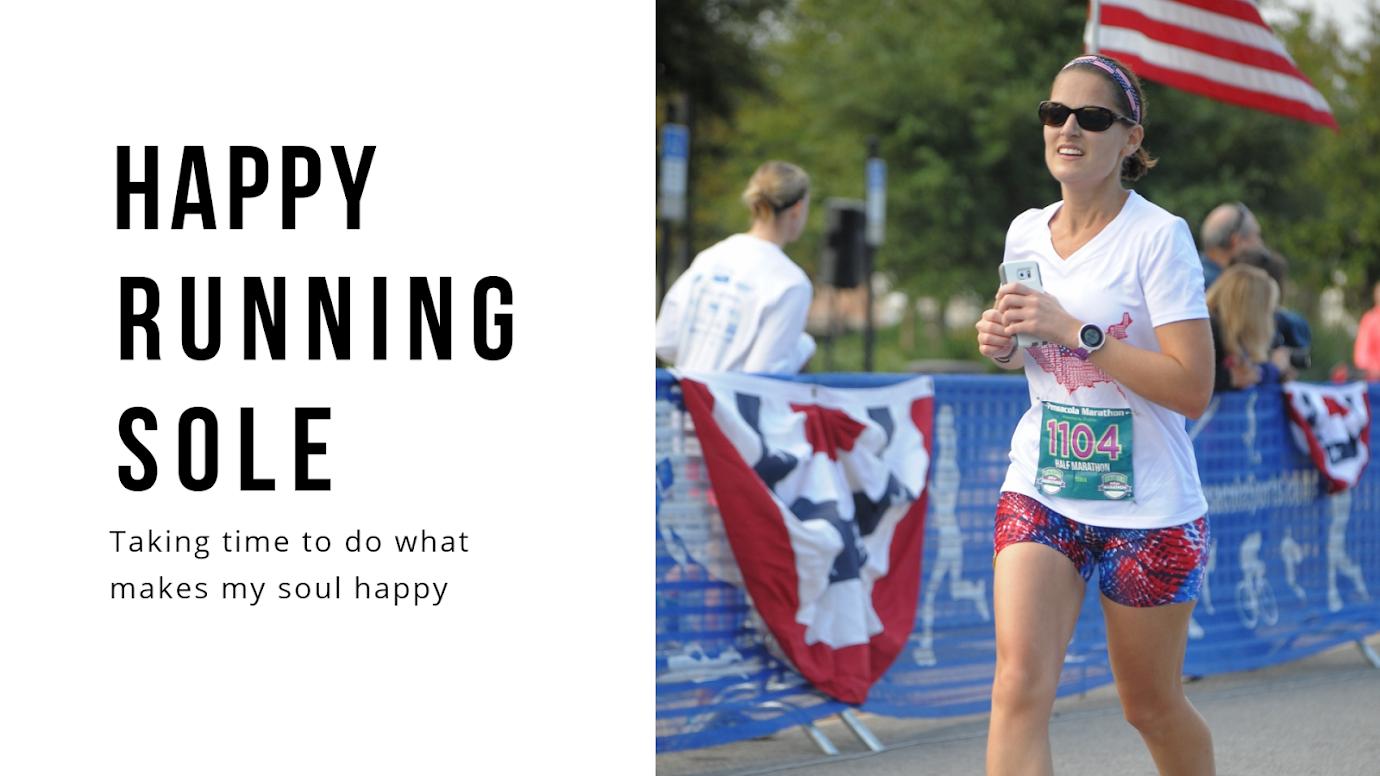 Happy Running Sole