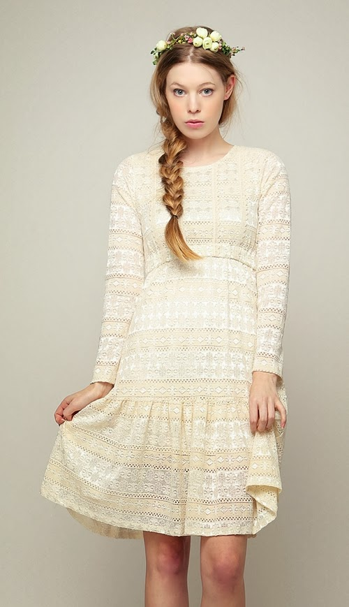 All Lace Girl's Wish Dress