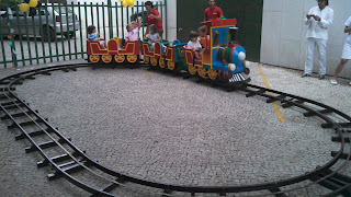 Trenzinho para diversão