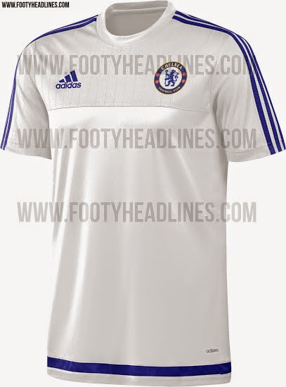 gambar photo Jersey training Chelsea musim depan 2015/2016