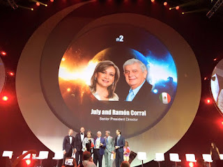 Global Top 15 Oriflame #2 Mexico - July and Ramon Corral (Senior President Director)