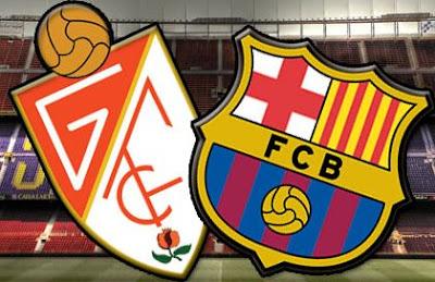 InfoDeportiva - Informacion al instante. GRANADA VS FC BARCELONA. Horarios, Resultados, Estadisticas, Online