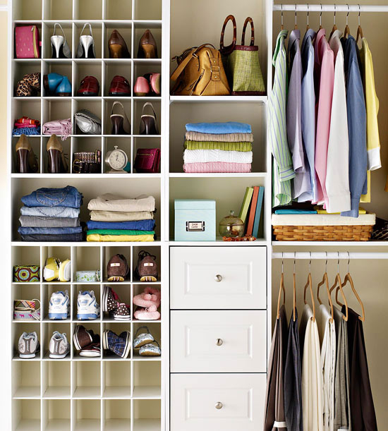 Small walk in closet ideas and organizer design to inspire you. diy walk in closet ideas, walk in closet dimensions, closet organization ideas. Find this Pin and more on Organizing Inspiration by Hometalk | DIY Home & Garden.