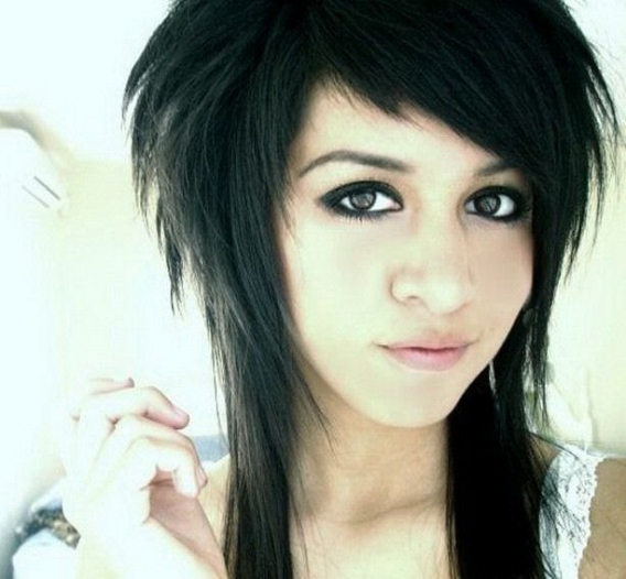 Emo girl Hair Cuts: Emo Hairstyles 2011 - Cute Hairstyles Of Emo