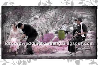 foto pre wedding gunung tangkuban perahu