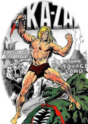 Ka-Zar and Zabu