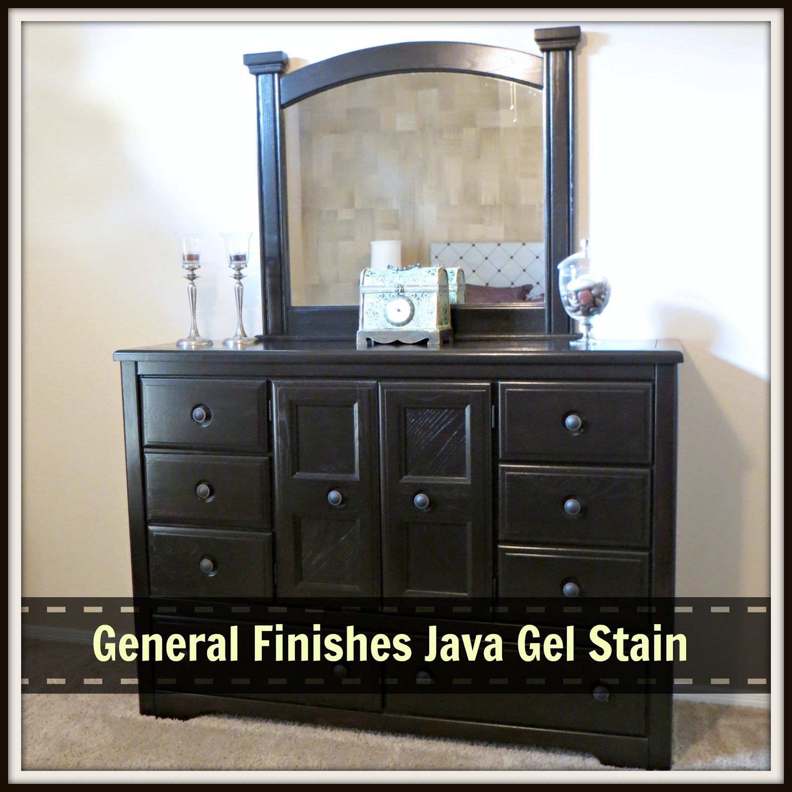 bedroom furniture makeover image19. General Finishes Gel Stain, Before \u0026 After Bedroom Furniture Makeover Image19