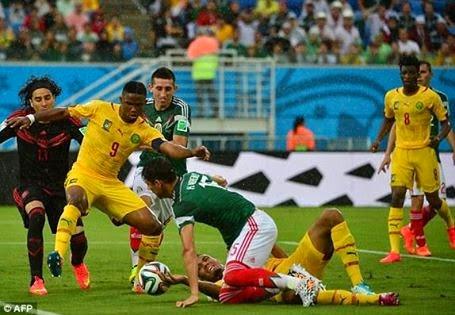 تغطية مباريات المكسيك والكاميرون -أسبانيا وهولندا - تشيلي وأستراليا في كأس العالم