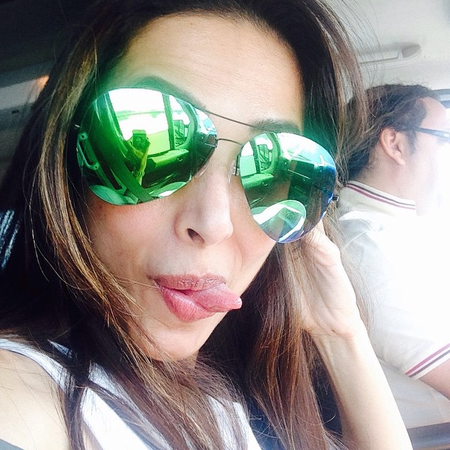 Malaika Arora Khan Hot Pics From Recent Holiday