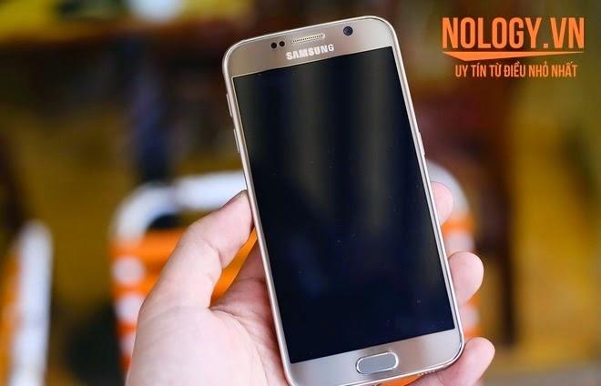 Thiết kế của Samsung galaxy s6 2 sim