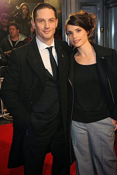 Tom Hardy married Charlotte Riley