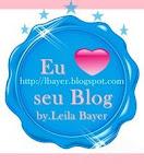 Eu amo seu blog!