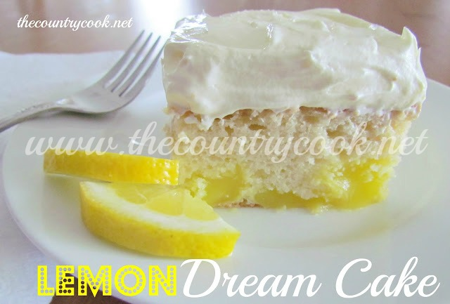 Lemon Dream Cake Country Cook