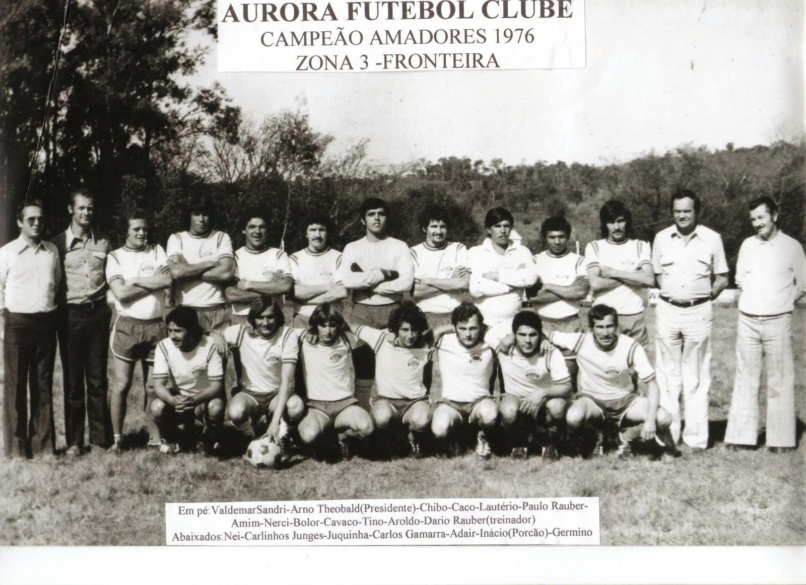 1976-Aurora Futebol Clube