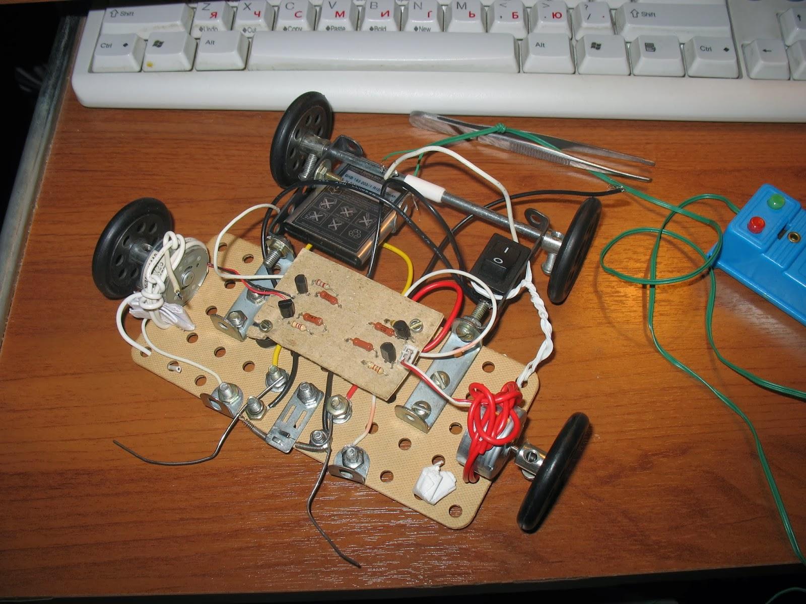 Как сделать робота на пульте управления своими руками в домашних условиях