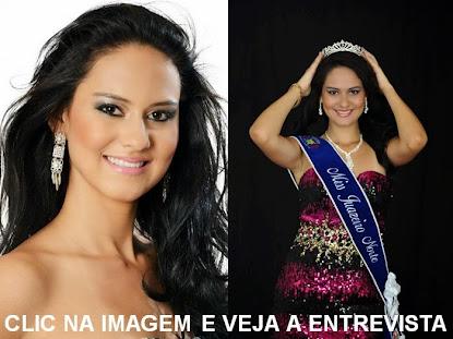 A Miss Juazeiro do Norte, Débora Beiriz, fala ao BNC o porquê de ter se tornado modelo