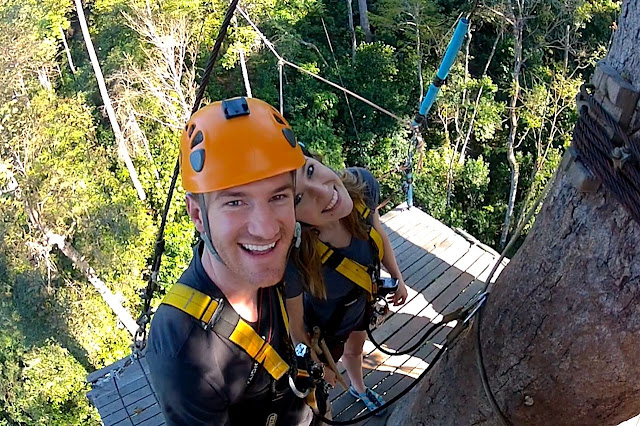 a great getaway to a jungle to zip line in thailand