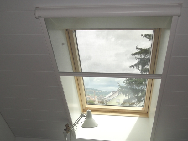 Moustiquaire velux for Ouvrir fenetre dos windows 7