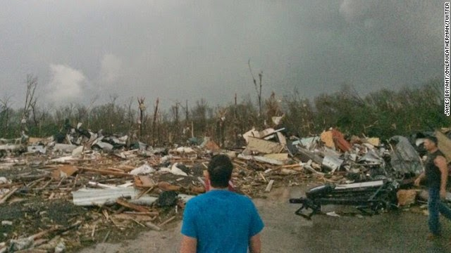 tornado damage mayflower arkansas