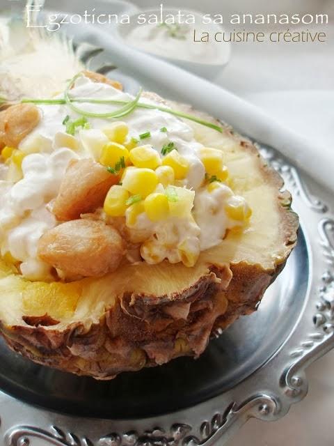 Salata sa piletinom i ananasom