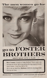 Vintage advertisement for Foster Brothers, c.1960's
