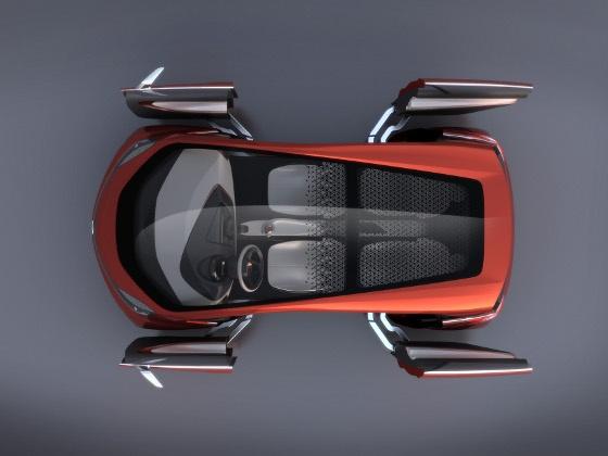 An Exciting Stuff Tata Megapixel A Car Concept Giving 100 Kmpl
