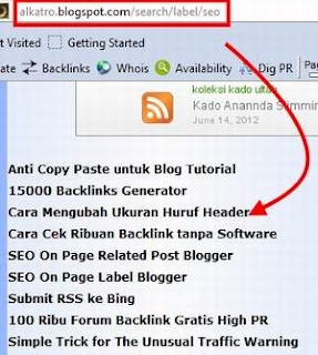 bagaimana cara mengubah layout search Label blogger